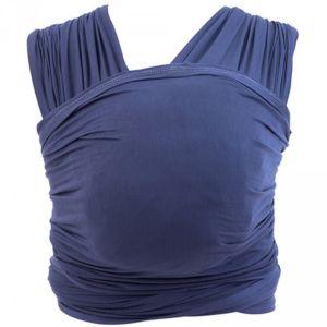 Ergobaby Echarpe de portage aura bleu indigo