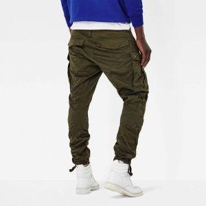 G-Star Raw Pantalons Gstar Rovic Zip 3d Tapered - Dark Bronze Green - 36