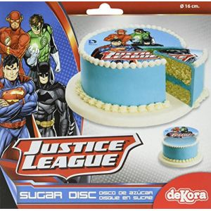 Disque en sucre Justice League