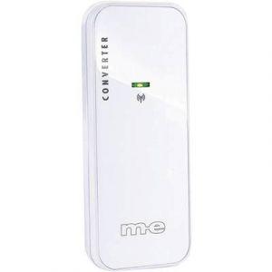 Image de M-e Convertisseur pour Sonnette sans fil modern-electronics Bell 212 TX 100 m blanc
