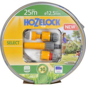 Hozelock TRICOFLEX SELECT TUYAU SET DE DIAMÈTRE 12,5 MM 25 M AVEC ÉQUIPEMENT DE BASE MULTICOLORE 32,5 X 32,5 X 12,7 CM, 6025P900