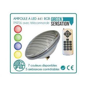 Desineo Ampoule à LED 456 avec télécommande par56 pour piscine -