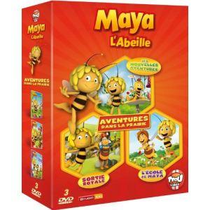 Coffret Maya l'abeille - Mes nouvelles aventures + Sortie royale + L'école de Maya