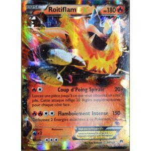 Asmodée Roitiflam Ex - Carte Pokémon XY Rupture Turbo
