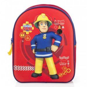 Sac Sam le pompier 3D 31 cm