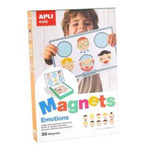 APLI Boîte jeu magnétique Les émotions