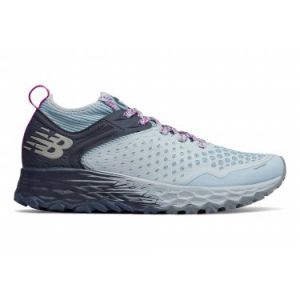 New Balance Fresh Foam Hierro v4, Chaussures de Course sur Sentier Femme, Bleu Light Blue, 39 EU