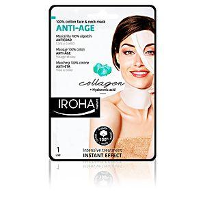 Iroha Masque visage & cou coton anti-âge IROHA