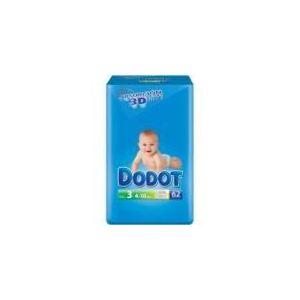 Dodot Couche taille 3 (4-10 kg) - paquet de 62