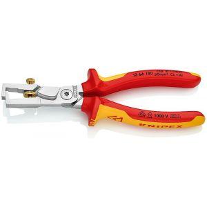 Knipex StriX Pince à dénuder à coupe-câble 180 mm - 13 66 180