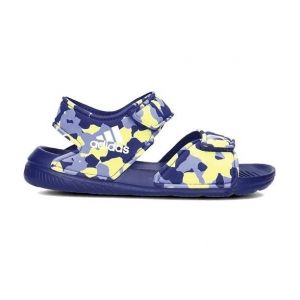 Adidas Altaswim, Chaussures de Plage et Piscine Garçon, Violet (Real Purple S18 Real Purple S18), 28 EU