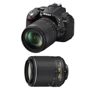 Nikon D5300 (avec 2 objectifs 18-105mm et 55-200mm)