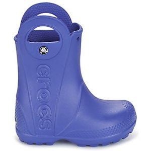 Crocs Handle It,Bottes de Pluie,Mixte Enfant,Bleu (Cerulean Blue), 27/28 EU