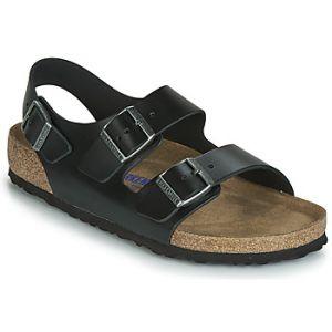 Birkenstock Sandales MILANO SFB Noir - Taille 41,42,43,44