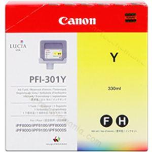 Canon PFI-301Y - Cartouche d'encre jaune
