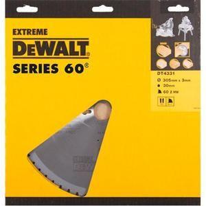 Dewalt DT4331 Lame scie stationnaire 305x30x60 Dents alter -5° trait 2,6mm