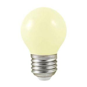 Vision-El Ampoule Led 1W (9W) E27 Blanc chaud 3000°K Boule opale