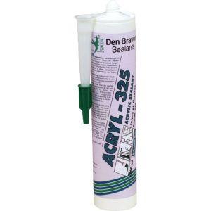 Den Braven Mastic acrylique - joint et fissure - 300 ml - chêne - Acryl 325