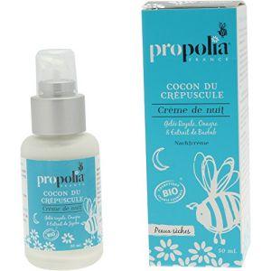 Propolia Crème de nuit Bio pour peaux sèches