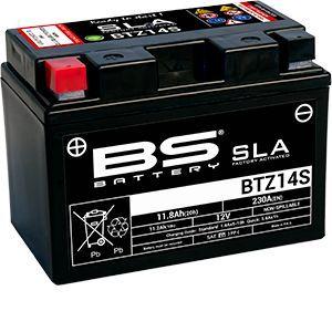 BS Battery Batterie BS BTZ14S-BS sans entretien