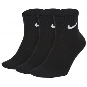 Nike Chaussettes de training Everyday Lightweight Ankle (3 paires) - Noir - Taille M - Unisex
