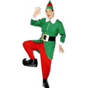 Smiffy's Déguisement elfe homme de Noël (taille M ou L)