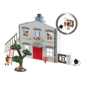 Ouaps Sam le pompier : maison en feu