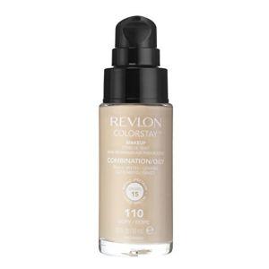 Revlon Colorstay N°110 Ivoire - Fond de teint peaux mixtes / grasses