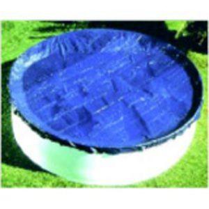 Bâche hiver pour piscine ovale 7.30m x 3.70m