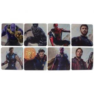 Paladone 8 dessous de verre Marvel - Avengers Infinity War: Personnages