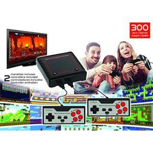 Lexibook Console de jeux Plug N%u2019 Play avec 300 jeux et 2 manettes