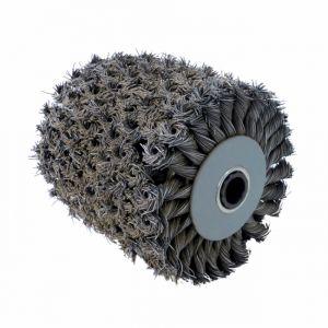 Far Tools Brosse fibre métal torsadées pour rénovateur REX 120 B meulage