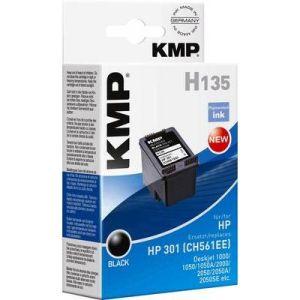 KMP H135 - Cartouche d'encre compatible HP n°301 noire