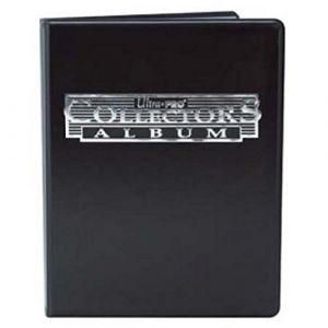 Asmodée Ultra Pro - Portfolio 4-pocket / 80 Cartes - Collector Series - Noir [ML] [Card]