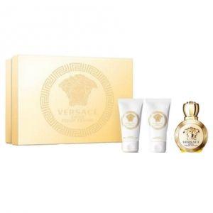 Versace Eros - Coffret eau de parfum, lait pour le corps et gel douche