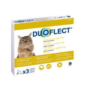 Ceva Duoflect chats 1-5 kg et chiens 1-2 kg 3 pipettes