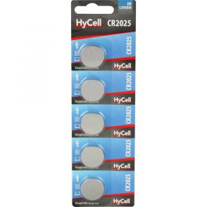 HyCell Pile bouton CR 2025 lithium 140 mAh 3 V 5 pc(s)