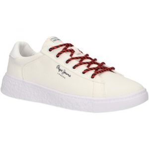 Pepe Jeans Roxy Summer, Baskets Femme, Blanc