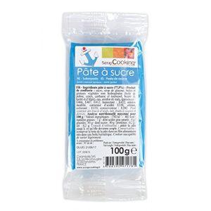 Scrapcooking Pâte à sucre Bleu (100 g)