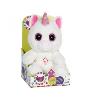 Gipsy Peluche 24 cm - Candy Pets Lumineux - Licorne