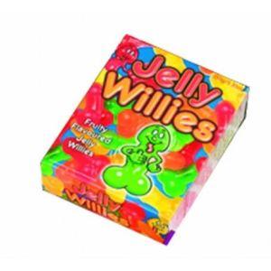 Bonbons gélifiés forme zizi