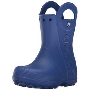 Crocs Handle It,Bottes de Pluie,Mixte Enfant,Bleu (Cerulean Blue), 32/33 EU