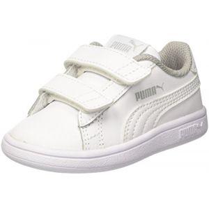 promo code 3331e 35072 Puma Smash V2 L V Inf, Sneakers Basses Mixte Bébé, Blanc White ...