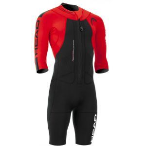 Head Swimrun Rough - Homme - rouge/noir SLO Combinaisons triathlon