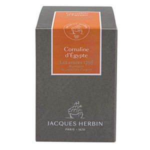 Herbin 15556JT - Flacon d'encre 1798, 50ml, couleur cornaline d'Egypte