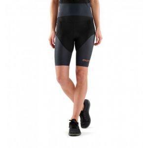 Skins DNAmic Triathlon - Short running Femme - bleu/noir S Pantalons course à pied