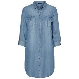 Vero Moda Robe courte VMSILLA Bleu - Taille S,M,L,XL,XS
