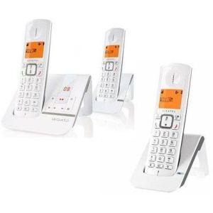 Alcatel Versatis F230 Voice Trio - Téléphone sans fil avec répondeur 3 combinés