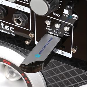Skytec KA-06 - Set actif PA karaoké enceintes 16cm USB SD