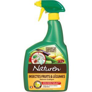 Naturen Insecticide fruits et légumes concentré - 800 mL - Traitement des plantes